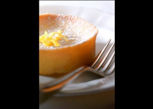 Food Photography | Lemon Tart with Fork