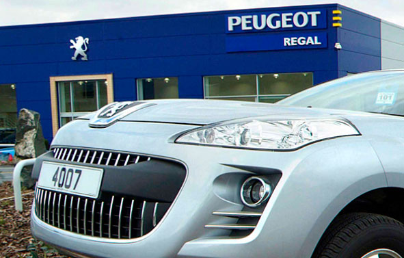 Location Photography | Peugeot Dealership