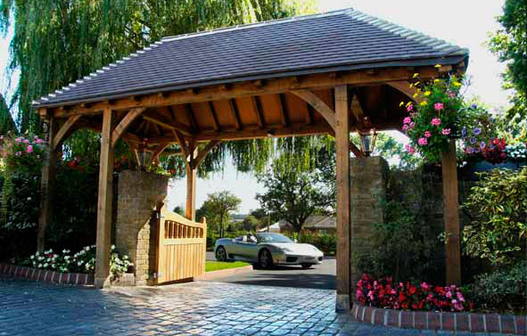 Location Photography | Oak Gate with Ferrari