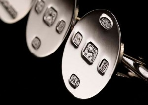 Product Photography | Silver Cufflinks Close up