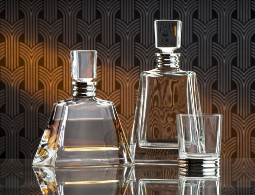 Product photography: Crystal Decanters