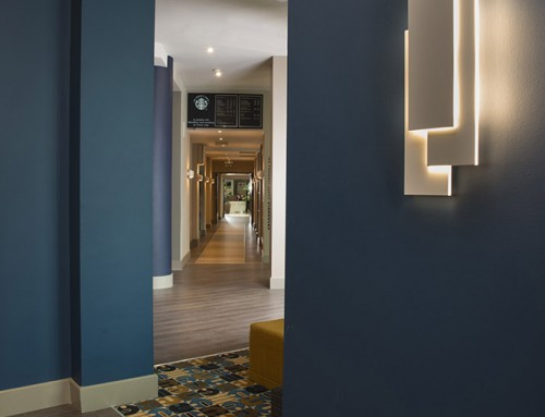 Location Photography: Birmingham Hotel bar and reception