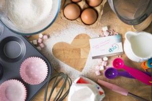 Food Photographer Birmingham - valentines cake ingredients- dpix creative photography