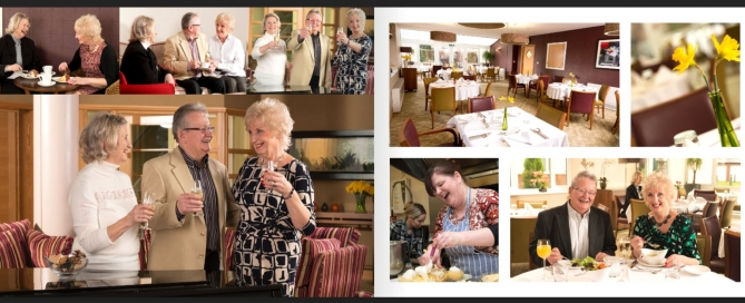 Location photography Worcester- Care home- dpix creative photography