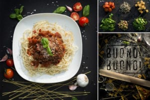 Food Photographer Bromsgrove- Spaghetti and ingredients- dpix creative photography