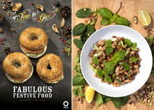 Food Photographer Bromsgrove -Bagels and Salads- dpix creative photography
