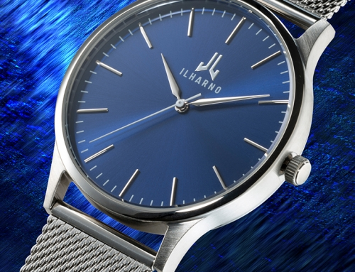 Product photography: Studio photography of a watch